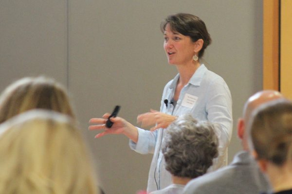 Dr. Jennifer Jencks presents at The Wolf School
