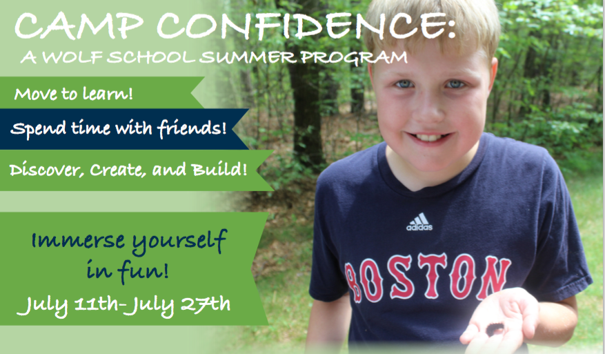 e7c63ddf40b790 Camp Confidence is open to current and entering Wolf students (Rooms 2-8)  only. At Camp Confidence
