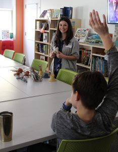 Hayley Morris visits our Stop Motion Animation Elective