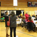 Families and friends gather for a special breakfast