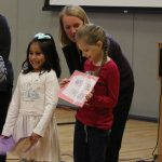 Room 2 students present at Founders' Day