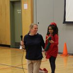 Room 2 presents at All School Assembly