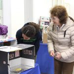 Students share special projects with their visitors