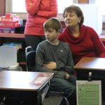 Grandparents' and special guests visit classrooms