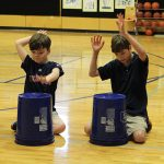 Room 3 students were naturals during their first practice
