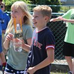Students have a blast watching their bottle rockets launch!