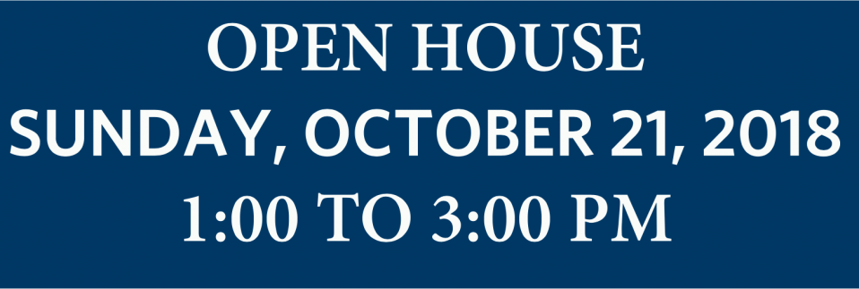 The Wolf School's Fall Open House will be on Oct 21