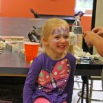 Getting your face painted can make anyone smile!