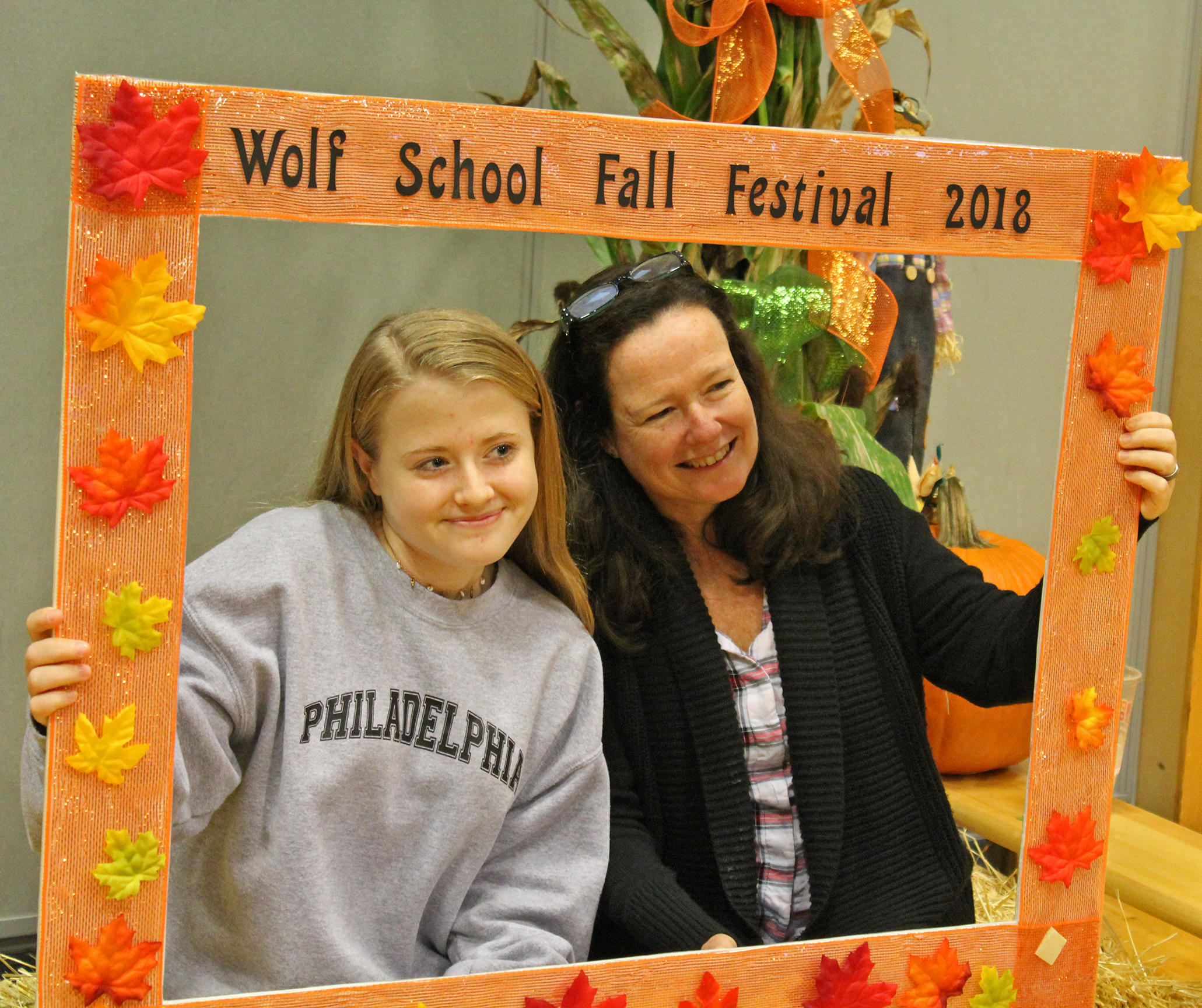 There were smiles all around at the Fall Festival!
