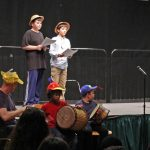 """The after-school acting program debuts their performance of """"How The Elephant Got Its Trunk."""""""