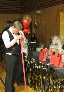 Guests participated in a raffle for a chance to win 1 of 4 prizes!